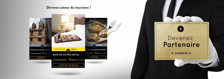 Devenez partenaire de l'office de tourisme du Mans