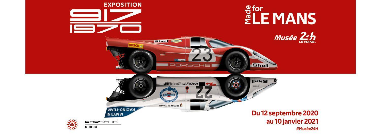 La prochaine exposition temporaire du Musée des 24 Heures du Mans sera dédiée à la Porsche 917 !