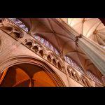 Voûtes de la Cathédrale St-Julien © Ville du Mans Gilles Moussé