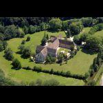 Vue aérienne Abbaye de l'Epau © Ville du Mans Gilles Moussé