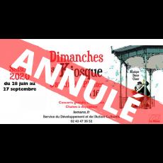 Visuel ANNULÉ - DIMANCHE AU KIOSQUE : CONCERT D'ENHARMONIE