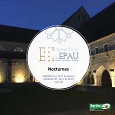 Visuel LES NOCTURNES DE L'EPAU