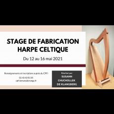 Visuel STAGE DE FABRICATION DE HARPE