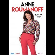 Visuel ANNE ROUMANOFF - Tout va bien