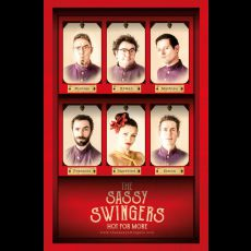Visuel THE SASSY SWINGERS