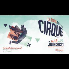 Visuel DE A A ZEBRE - Le Mans Fait Son Cirque