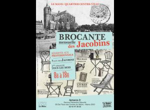JACOBINS MONTHLY BROCANTE