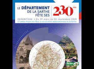 EXPOSITION 230 ANS DU DÉPARTEMENT DE LA SARTHE