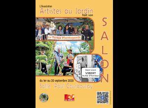 L'ASSOCIATION ARTISTES AU JARDIN FAIT SON SALON