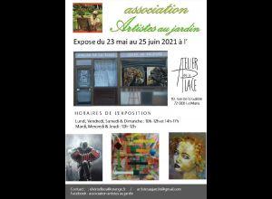 EXPOSITION DE L'ASSOCIATION ARTISTES AU JARDIN