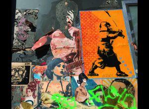 STREET-ART DANS LA VILLE VISITE À VÉLO