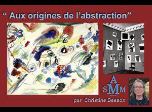 « AUX ORIGINES DE L'ABSTRACTION » PAR CHRISTINE BESSON