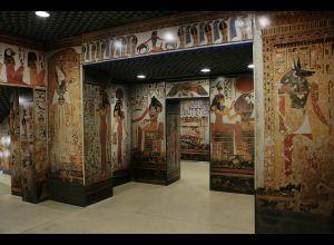 GALERIE ÉGYPTIENNE DU MUSEE DE TESSE