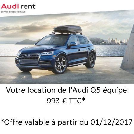 Partez à l'aventure en Audi Q5 !