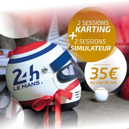 Noël au Karting des 24 heures du Mans !