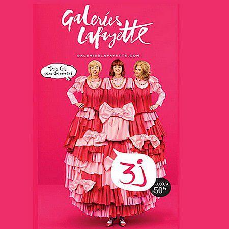 Les 3J aux Galeries Lafayette