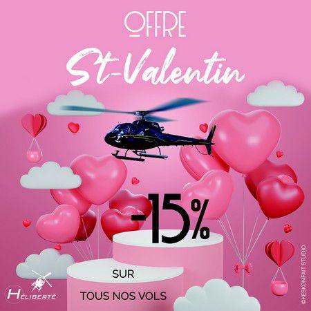 Offre Héliberté Saint-Valentin