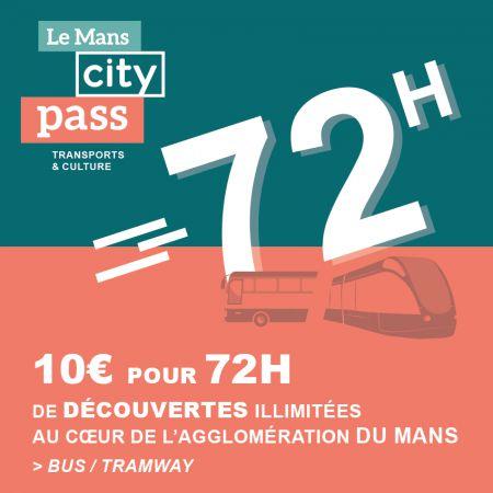 Voyagez et explorez en illimité avec Le Mans City Pass !