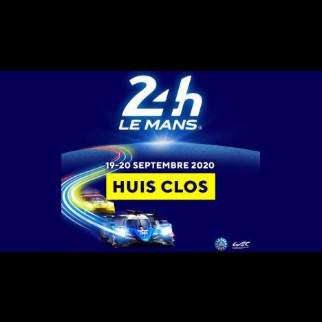 Visuel 24 HEURES DU MANS 2020 (A HUIS CLOS)