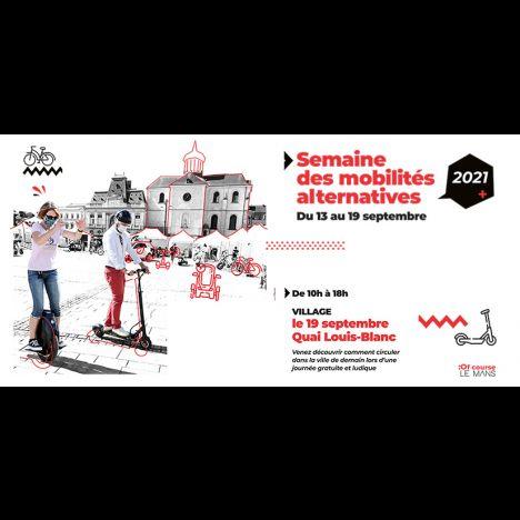 Visuel JOURNÉE DES MOBILITES ALTERNATIVES
